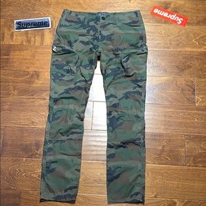 Unique Y2K Vintage Camouflage Military Cargo Pants